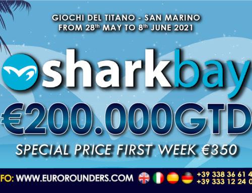 """""""SHARK BAY"""" il primo torneo di poker live della ripresa in Europa"""
